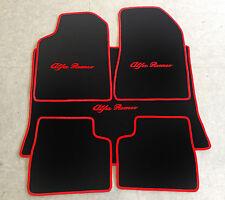 Autoteppich Fußmattenn Kofferraum für Alfa Romeo Giulietta 5tlg. schwarz rot Neu