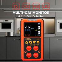 ST8900 4 in 1 Multi Gas Detector Carbon Monoxide LEL Gas Leak Tester Gas Monitor