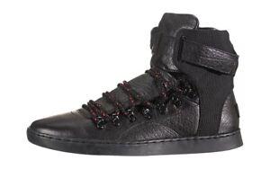 creative recreation Baretto UK.7 Bnwt Boxed Walking Boots Triple Black