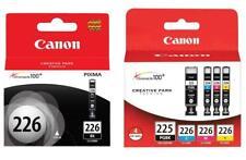 Canon Genuine PGI-225 Black & CLI-226 Ink Cartridges 5-Pack