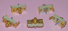 CERAMIC AND BRASS COMPRESSION TRIMMER CAPACITOR 140pF - 10 PIECES