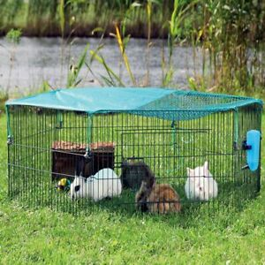Small Pet Enclosure Run Protective Net Quality Narrow Young Animals Safe Secure