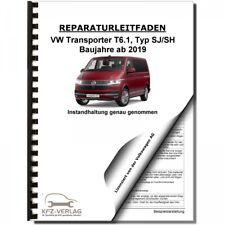 VW Transporter T6.1 ab 2019 Instandhaltung Inspektion Wartung Reparaturanleitung