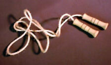 Folk Toys Wood & Natural Rope Classic Jump Rope w/ Wooden Handles Toy - 357510