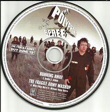Tripping Daisy POLYPHONIC SPREE Running EDIT & Fragile RARE TRX PROMO CD Single
