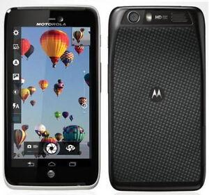 GOOD Motorola Atrix HD MB886 AT&T LTE Android 4 WiFi Hotspot 8MP Camera Phone