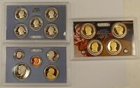 2010 US Mint Clad Proof Set, 14 Gem Coins w/ Box & COA