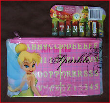 TINKERBELL - Small PENCIL CASE (with Name Insert)  DISNEY Gorgeous 14x22cm- NEW
