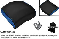 BLUE & BLACK 08-12 CUSTOM FITS YAMAHA 600 YZF R6 REAR SEAT COWL PAD COVER
