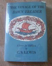THE VOYAGE OF THE DAWN TREADER C.S. Lewis - 1st/3rd - 1962 - HCDJ - near fine