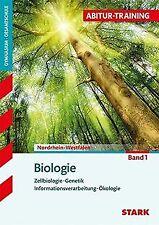 Abitur-Training - Biologie 1 Nordrhein-Westfalen   Buch   Zustand gut
