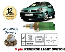 pour Renault Clio 2002- >1.2 1.5dCi 3 Broches Interrupteur Feu de recul original