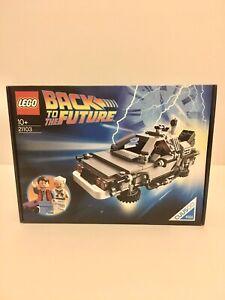 LEGO Cuusoo Back To The Future Delorian *BNIB*Sealed (21103) Retired Set