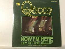 Mega RARE POP 80's 70's CD Queen Single LIMITED sleeve NOW I'M HERE Lily Valley