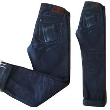 Japan Blue Jeans Selvedge Denim Button Fly Sz 31 W/31 Made In Japan