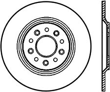 Disc Brake Rotor-SE Rear Left Stoptech 128.61081L