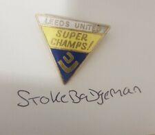 Rare Leeds United Coffer Football Club Pin Badge