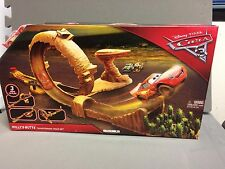 New Disney Pixar Cars 3 Willy's Butte Transforming Track Set
