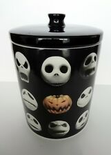 Disney Nightmare Before Christmas Ceramic Jack Skellington Cookie Jar Theme Park