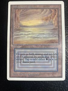Unlimited Underground Sea MTG 1 Owner  Magic the Gathering Reserved List L@@k