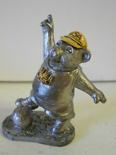 Ricker Pewter USA Olympic Soccer Bear. Limited Edition. Hard to Find! #37
