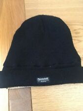 Black Wooly Hat Thinsulate Insulation Bargain