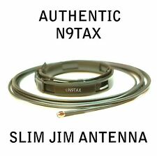 Authentic N9TAX VHF/UHF Slim Jim J-Pole For HT 2m 70cm Antenna 16' Coax