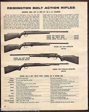 1974 REMINGTON 580 Single Shot, Boys Girls 580SB, 581, 582 Rifle AD