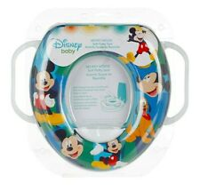 Disney Mickey Mouse Soft Potty Seat With Handles