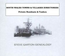 GENEALOGY DIRECTORY FOR TOWNS & VILLAGES IN SOUTH WALES 1830 - 1931