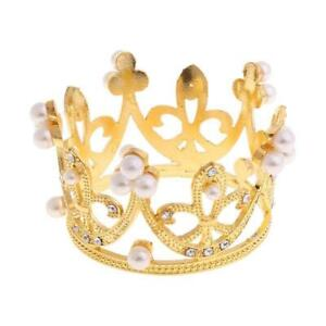 Newborn Girls Boys Photography Gold Crown Props Little Baby Photo foto shooting