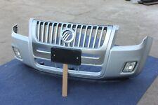 08-11 MERCURY MARINER FRONT BUMPER FOG GRILL LIP ASSEMBLY GENUINE OEM SILVER