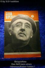 Der Spiegel 42/52 15.10.1952 Sonntagskind der Geographie Francisco Franco