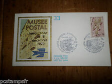 FRANCE 1973, FDC 1° JOUR, INAUGURATION MUSEE POSTAL, timbre 1782