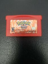 Pokemon FireRed Version Fire Red Game Boy Advance GBA authentic tested works!