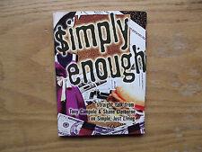 Simply Enough (DVD 2007) Tony Campolo, Shane Claiborne