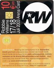 Arenakaart A051-01 10 euro: Robbie Williams