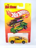 Hot Wheels The Hot Ones Ferrari 512 Gold/Yellow 1:64 Diecast NEW NOC w/ Protecto