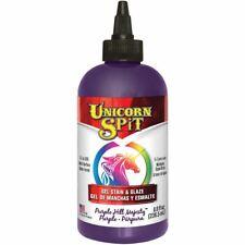 Unicorn Spit Wood Stain & Glaze 8oz-Purple Hill Majesty -5771-009