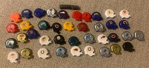 VTG 1976 Partial Set NFL Mini Football Helmet Magnets Original Owner!