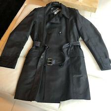 Dolce & Gabbana  coat, black trench coat  , IT52, UK 42, RRP £ 800+