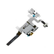 iPhone 4S White Headphone Jack Mute Switch Volume Buttons Audio Flex Cable