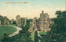 Warwick castle from the mound WH smith