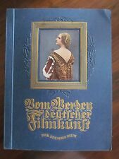 """Zigarettenbilderalbum """"Vom Werden deutscherFilmkunst 1935"""""""