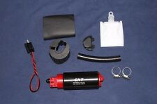 Racing 255LPH High Flow Fuel Pump & Install Kit replace GSS-342  E85 ready