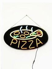 Bright LED Neon Light Animated Motion OPEN Sign For Pizza Food Store Shop