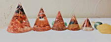 ORGONE CONES - CUSTOMIZED - HAND MADE TO ORDER 1.5 inches (40mm)