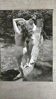Photo nu artistique pour la revue Bob Harvest 1962 Noviciat Nudiste No45