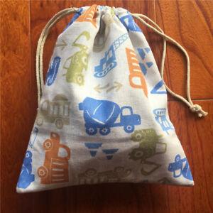 Cotton Linen Drawstring Eco Multi-purpose Bag Sorted Bag Party Gift Bag shovel E