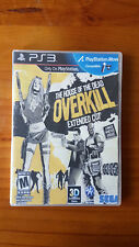 House of the Dead Overkill - Extended Cut PS3 Game & Manual Playstation 3